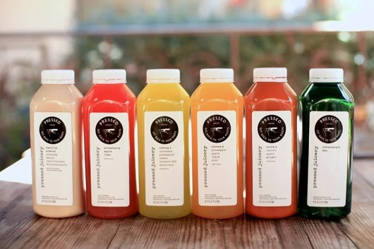 Southern California's Pressed Juicery specializes in cleanses