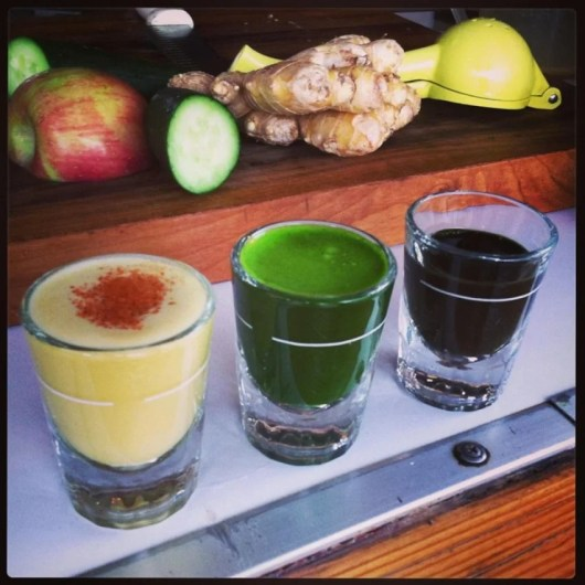 Portland's Sip, which specializes in nutritional shots, is actually a juice cart.