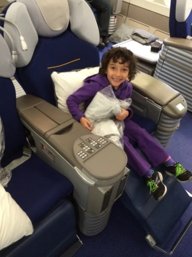 Tips For Flying With Kids In First Class The Points Guy