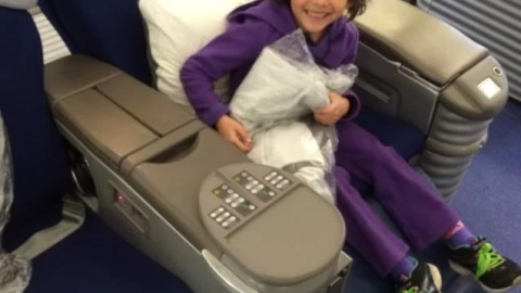 Tips For Flying With Kids in First Class – The Points Guy