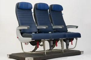 New Economy seats on United's 737 planes