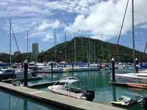 The Marina on Hamilton Island.
