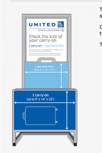 United S Strict New Carry On Baggage Rules Go Into Effect