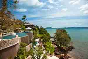 The Westin Phuket overlooking Siray Bay.