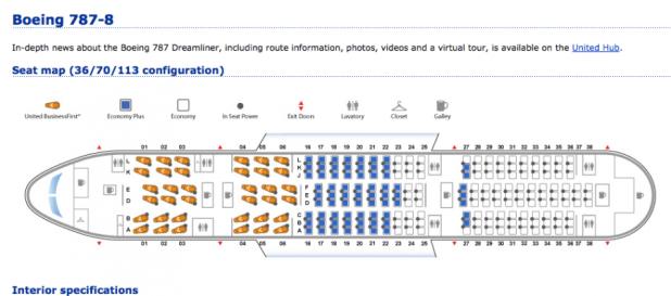 Dreamliner Seat Map Air Canada Brokeasshomecom - Us airways arena seat map