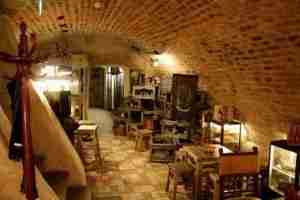 Bambalyne Brewery cellar in Vilnius.