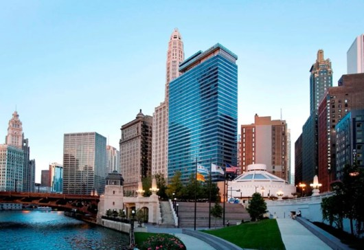 Wyndham Chicago Riverfront in June is 30,000 points per night.