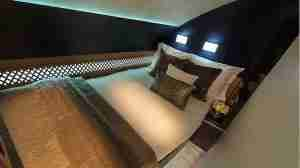 The bedroom in Etihad