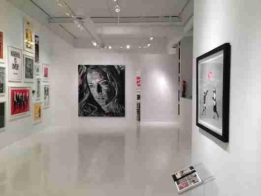 Inside Robert Fontaine Gallery in Wynwood