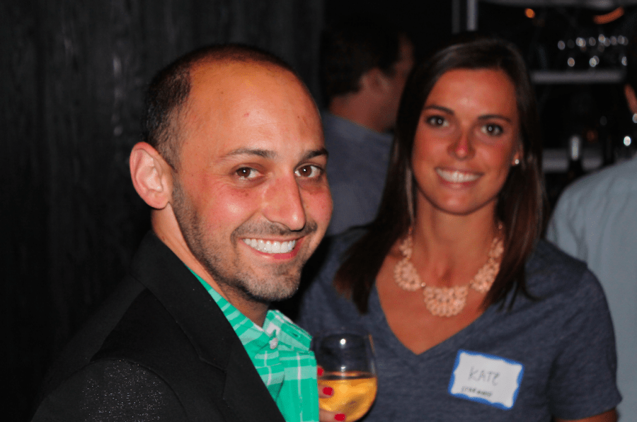 TPG Creative Director Adam Daniel Weiss and Director of Operations Kate O