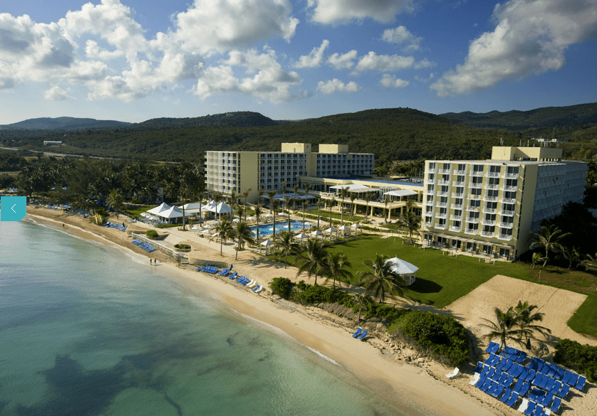 The all-inclusive Hilton Rose Hall.