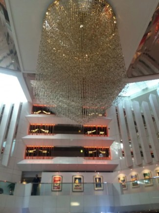 When you're in the lobby of the JW Cannes, it's hard not to feel like you've *arrived*