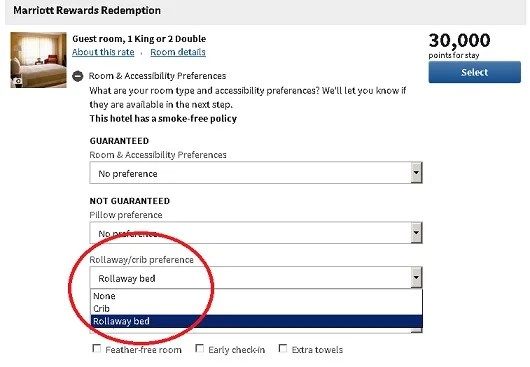 It's nice that you can request additional bedding, but it isn't guaranteed.