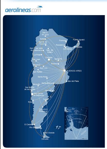 Take advantage of Aerolineas Argentinas