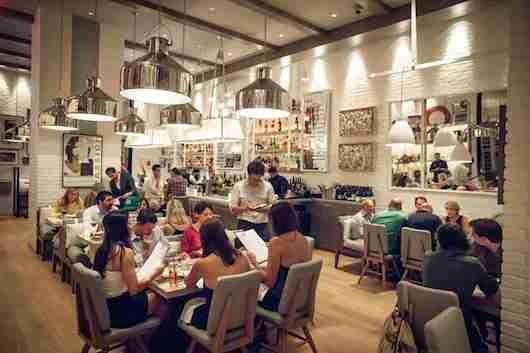 The Chic dining room at The Dutch Miami. Image: The Dutch Miami/Noah Fecks