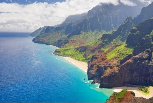 Hawaii is many people's dream vacation. Image courtesy of Shutterstock.