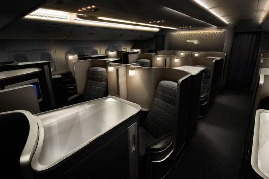 British Airways A380 First Class