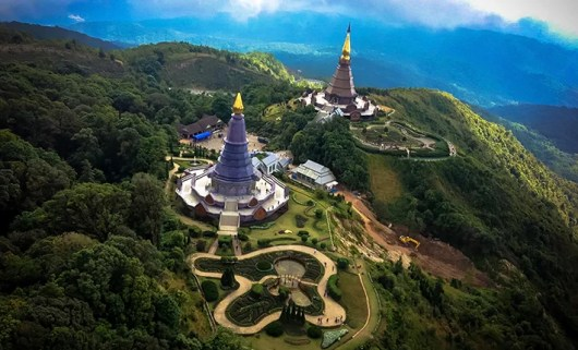 See some amazing views of Chiang Mai from helicopter