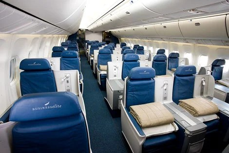There are still ways to get into that business class cabin - you just have to get creative.