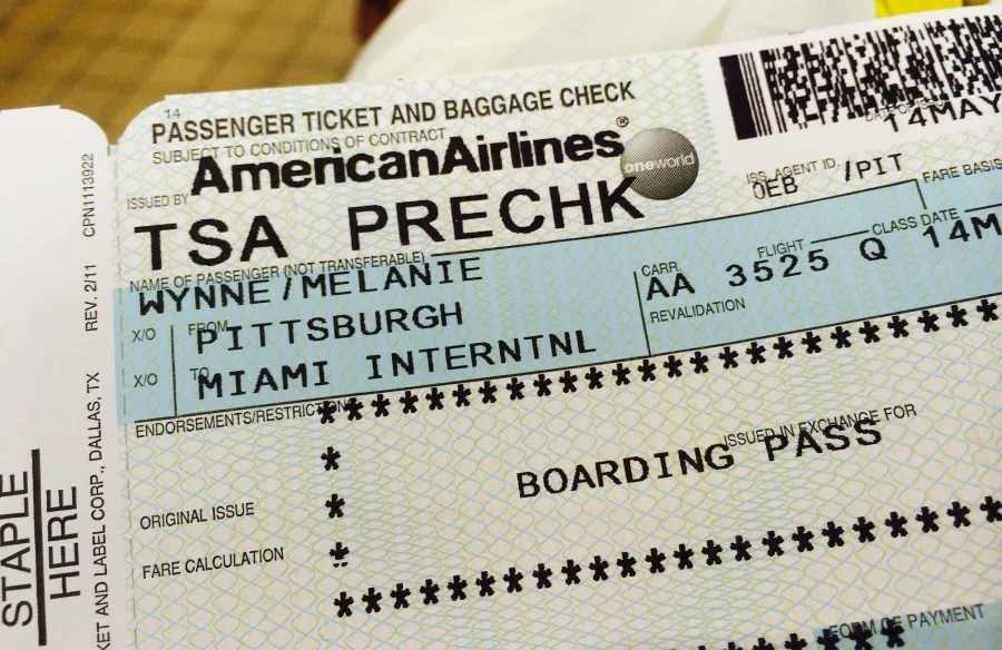 What to Do If a Boarding Pass Isn't Marked TSA PreCheck