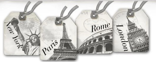 Win a trip to an iconic city: NYC, Rome, London or Paris