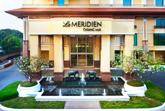 Rates at the Le Meridien Chiang Mai start at just 3,000 Starpoints per night this October