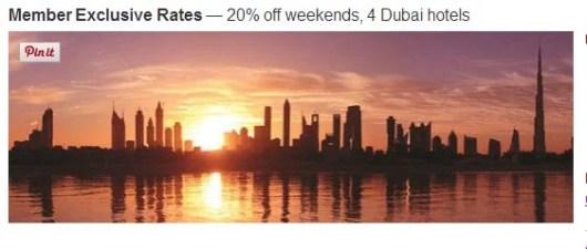 Save 20% at four Dubai Marriott hotels