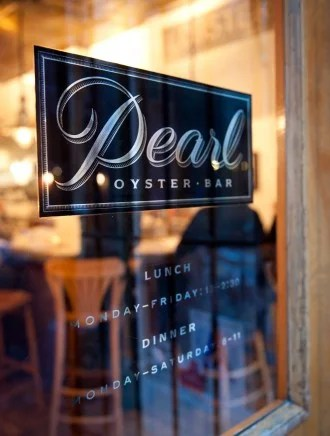 Always a classic, Pearl Oyster Bar