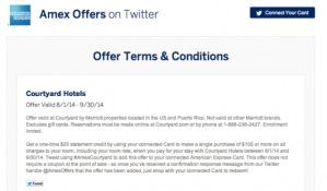 Each Twitter sync offer has its own specific terms, conditions and eligible dates.