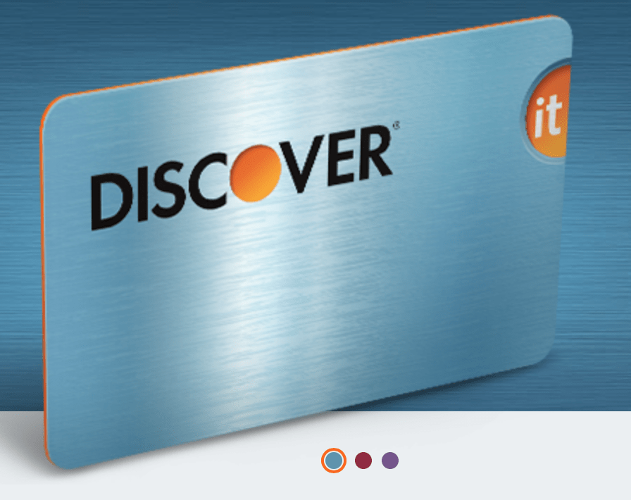 Earn 5% cash back with the Discover It card.