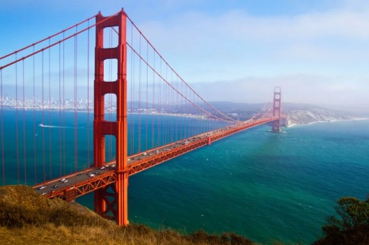 Win a trip for two to San Francisco. Image courtesy of Shutterstock.