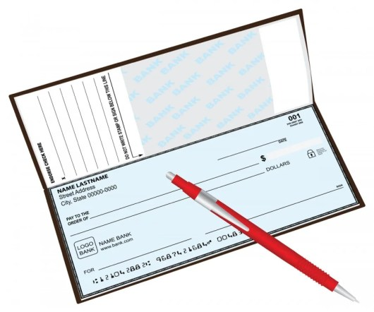 Your checkbook - which includes your name, address and your bank's phone number - can be one valid form of ID