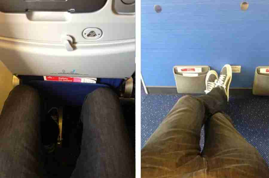 Two tales of my legs in KLM