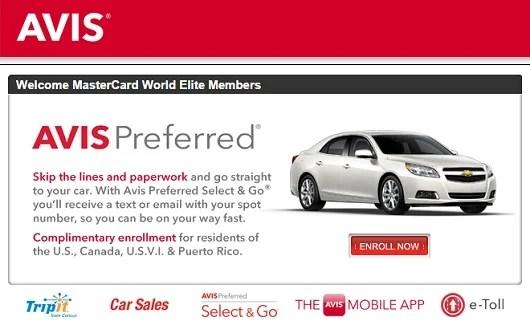 credit cards that offer elite status for car rentals the. Black Bedroom Furniture Sets. Home Design Ideas