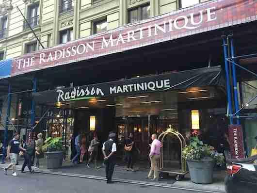 The Radisson Martinique on Broadway