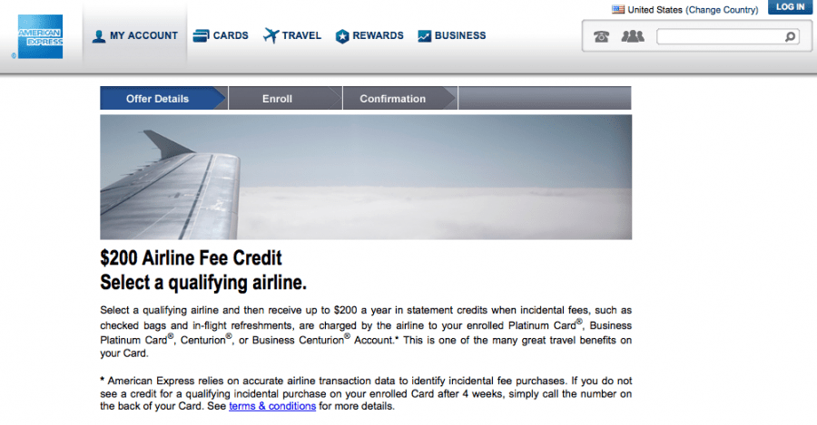 The $200 airline fee credit on the Amex Platinum resets on January 1st, so apply now and get your first $200 before the end of the year!