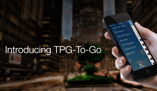 Announcing TPG-To-Go