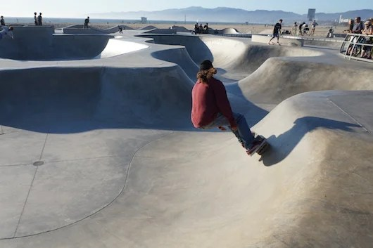 Another Skater at the Venice Skate Park. Photo by Shayne Benowitz.
