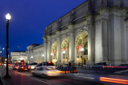 Your trip from Washington begins from Union Station, right in the heart of the District of Columbia. Image courtesy of Shutterstock.