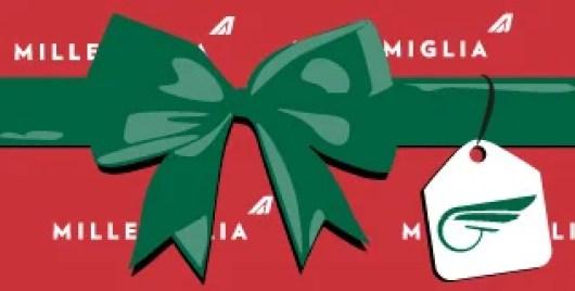 Join MilleMiglia, take one flight and get bonus miles