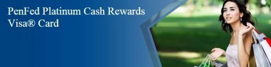 Penfed Platinum Cash Rewards Credit Card banner