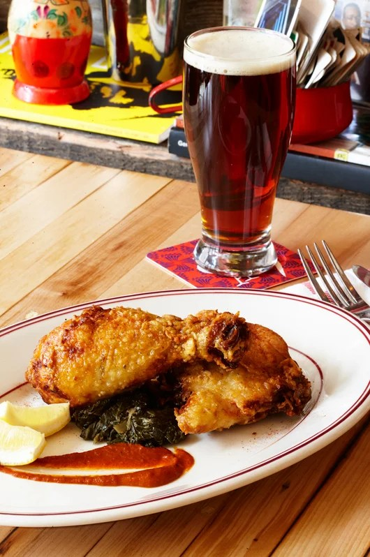 Red Rooster's fried yardbird in Harlem.