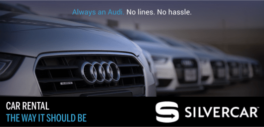 Enter to win a year of Silvercar