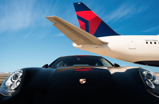 Delta is expanding their Porsche car service to three more airports.
