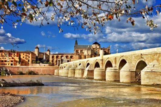 The Roman bridge in Córdoba. Photo courtesy of Shutterstock.