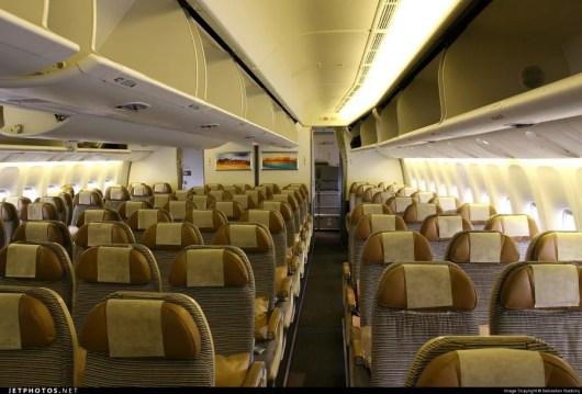 Etihad 777-300 Economy seats. Photo from Jetphotos.com.