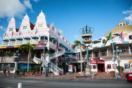 Dutch architectural flourishes in Aruba. Photo courtesy