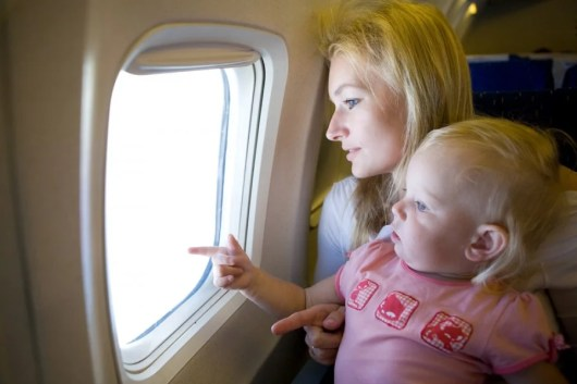 If you want to take a lap child on an international flight, be prepared to pay up!