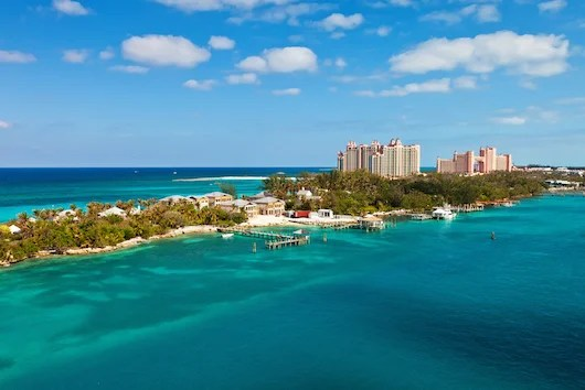 Views of the Atlantis Resort in the Bahamas, now a Marriott Autograph Collection hotel. Photo courtesy Shutterstock.