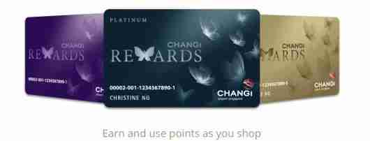 If you frequent the Changi airport, why not get the Changi Rewards card?